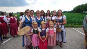 Lambacher beim Häubchentreffen in Bad Wimsbach