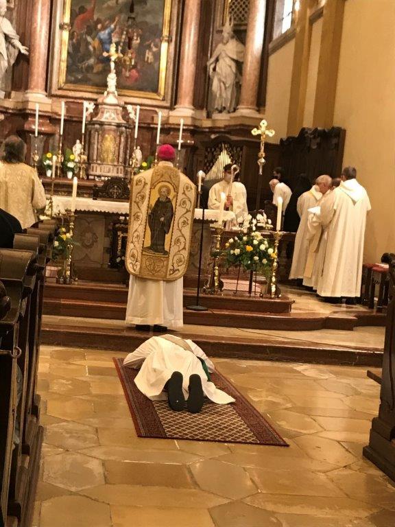 Heilige Priesterweihe von Pater Severin am 11. Juli 2021