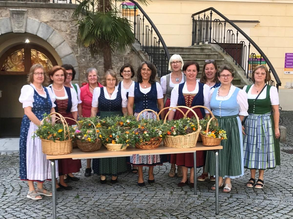 Kräuterweihe in Lambach am 15. August 2021